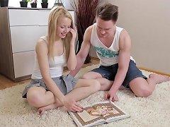 Gorgeous Teen Pornstar Shows Up In Arousing Sex Video