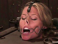 Facial Torture With Mouse Trap On Tongue For Ariel X In Bdsm Vid