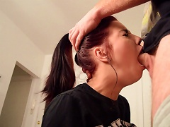 Shana Lane Is A Young Slut That Just Loves Getting Face Fucked