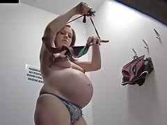 Pregnant Girl Spy Cam