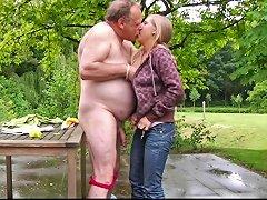 Blonde Teenager Fucks Fat Ugly Old Geezer Free Hd Porn 87